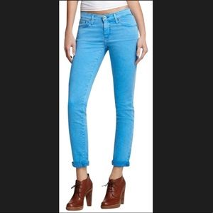 AG Adriano Goldschmied Stevie Ankle Straight Jeans
